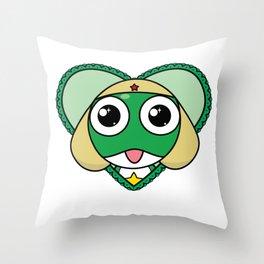 Lots of Keroro Love!! Throw Pillow
