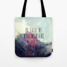 Matthew 17:20 Tote Bag