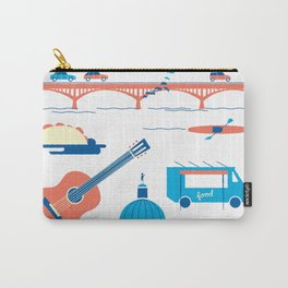 Love Letter to Austin, Texas Carry-All Pouch