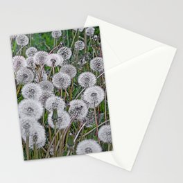 SEEDS OF DANDELION Stationery Cards