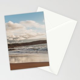 Beach in Cantabria. Coastal landscape, north of Spain Stationery Cards