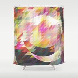 Cirkles Shower Curtain