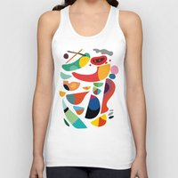 kitchen Tank Tops featuring Still life from god's kitchen by Picomodi