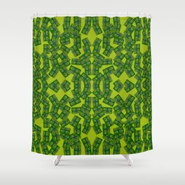 1007 Folkloric pattern ... Shower Curtain