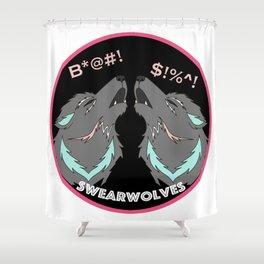 Swearwolves Shower Curtain
