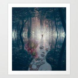 Fascinator Art Print