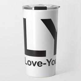 ILY (I-Love-You) Travel Mug