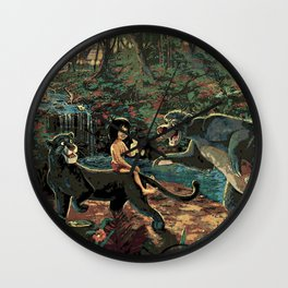 The Jungle Book Wall Clock