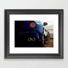 F12 Close Up Framed Art Print