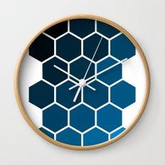 Geometric Abstraction II Wall Clock