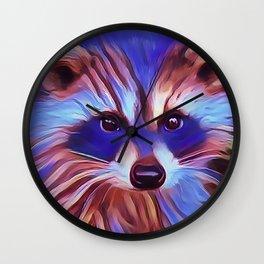 The Raccoon Bandit Wall Clock