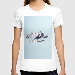 Paper mountains T-shirt