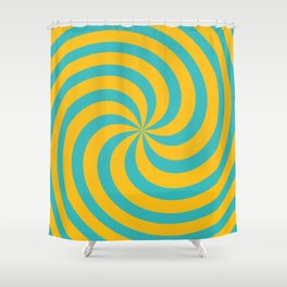 Color Swirl IV Shower Curtain