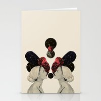helen Stationery Cards featuring helen and clytemnestra by cardboardcities