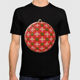 Christmas Garden Pattern T-shirt