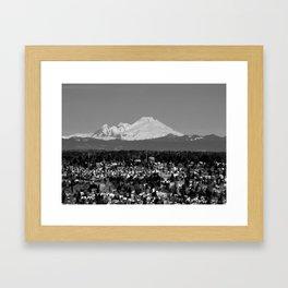 Velvet Snow Framed Art Print