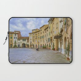 Piazza Anfiteatro, Lucca City, Italy Laptop Sleeve