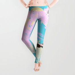 SURF GOTH Leggings