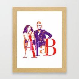 AbFab Framed Art Print