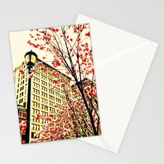 street blossoms Stationery Cards