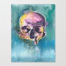 Colorful Skull 5 Canvas Print