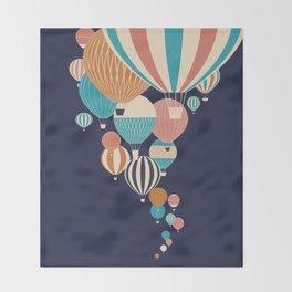 Balloons Throw Blanket