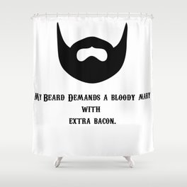 Bloody Mary Shower Curtain
