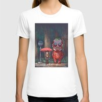 attack on titan T-shirts featuring My Neighbor Titan by Ron Chan