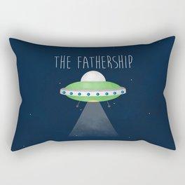 The Fathership Rectangular Pillow