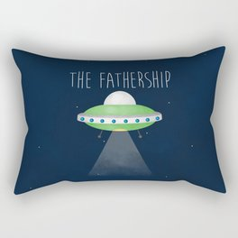 The Fathership Rectangular Pillow