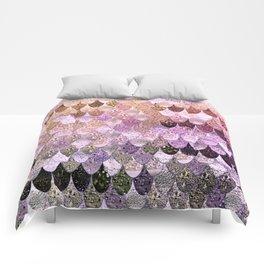 SUMMER MERMAID MOONSHINE  GOLD 2 Comforters