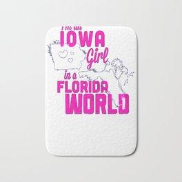 Iowa Girl! Bath Mat