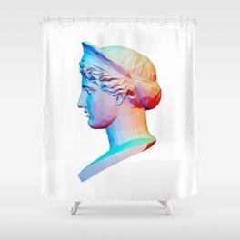 Head from The Barberini Hera Shower Curtain