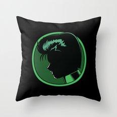 The Spirit Detective Throw Pillow