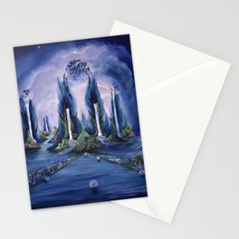 The landing Stationery Cards
