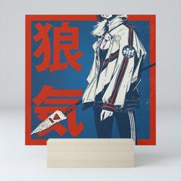 Hypebae mononoke Fangirl Mini Art Print