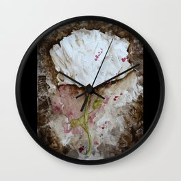 Abstract rose Wall Clock
