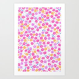 Field Flowers  Art Print