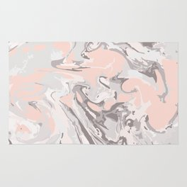 Effect Marble pink Rug