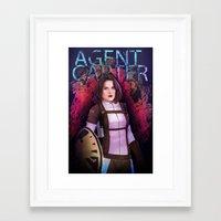 agent carter Framed Art Prints featuring Agent Carter. by tantoun