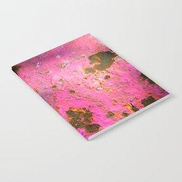 Pink Rust Notebook