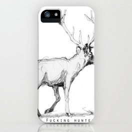 Fucking hunters iPhone Case