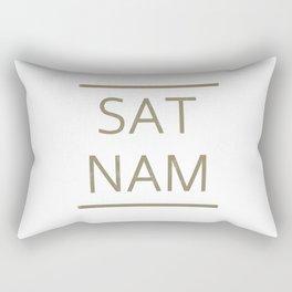 SAT NAM glow Rectangular Pillow
