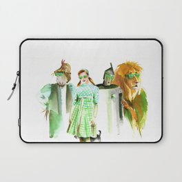 Green spectacles Laptop Sleeve