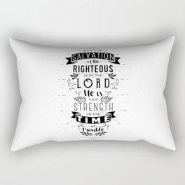 Psalm 37:39 Rectangular Pillow
