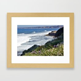 La Jolla Beauty by Reay of Light Photography Framed Art Print