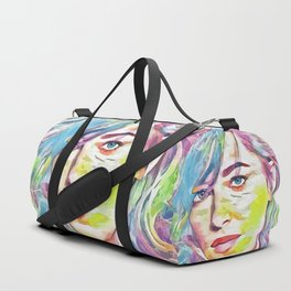 Dakota Johnson (Creative Illustration Art) Duffle Bag