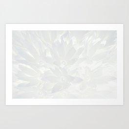 Shiny flower Art Print