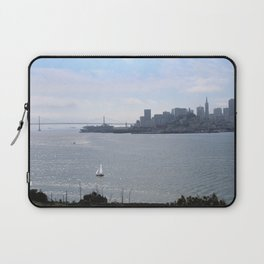 Downtown SF from Alcatraz Laptop Sleeve