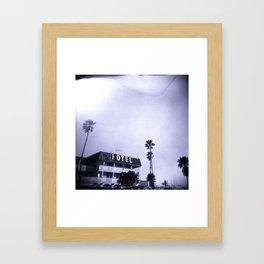 Hotel Framed Art Print